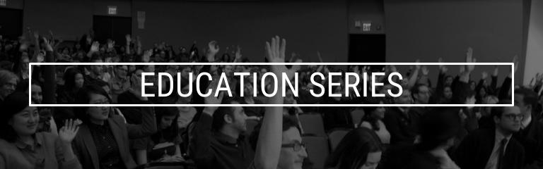 education series banner